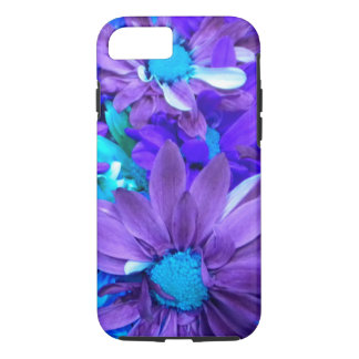 Purple N Turquoise Bouquet iPhone 7 case