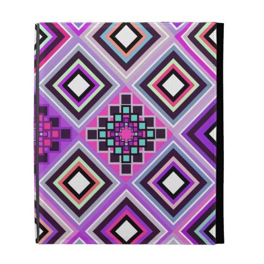 Purple Native Inspired iPad Folio Case