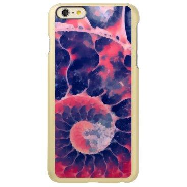 Beach Themed Purple Nautilus Incipio Feather® Shine iPhone 6 Plus Case