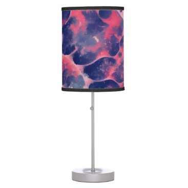 Beach Themed Purple Nautilus Table Lamp