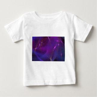 Purple nebula abstract art baby T-Shirt