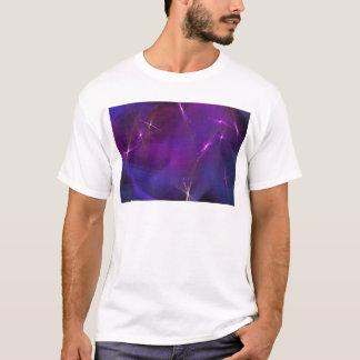 Purple nebula abstract art T-Shirt