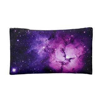 Purple Nebula Cosmetics Bag