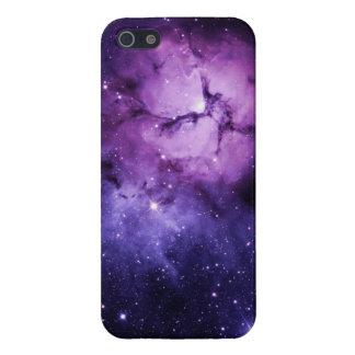 Purple Nebula: iPhone 5/5S Covers