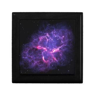 Purple Nebula Jewelry Box