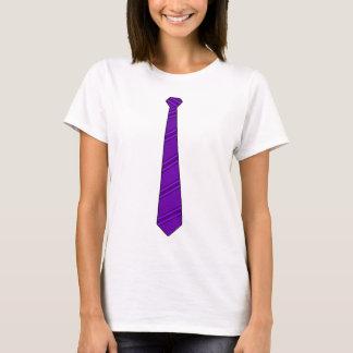 Purple Necktie Shirt