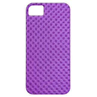 Purple net pattern photography phone case abstract