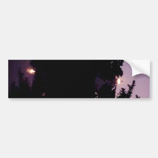 Purple Night Bumper Sticker