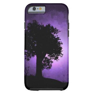 Purple Night Haze Tough iPhone 6 Case