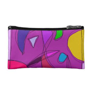 Purple Night Sky Makeup Bag