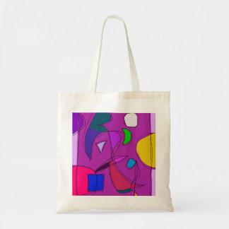 Purple Night Sky Tote Bag