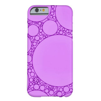 Purple Noise Abstract Barely There iPhone 6 Case