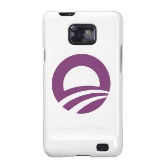 Purple O Galaxy SII Covers