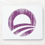 Purple O Faded.png Mousepad