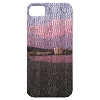 Purple ocean sunset in Costa del sol Spain mosaic. iPhone 5 Covers