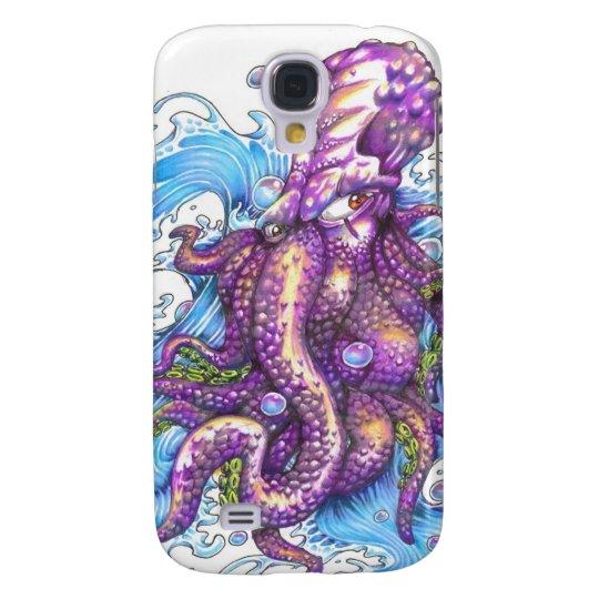 purple octopus samsung galaxy s4 case