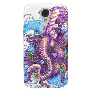 purple octopus samsung galaxy s4 cover
