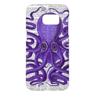Purple Octopus Samsung Galaxy S7 Case