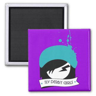 "Purple Official ""TLV Derby Girls"" Logo Magnet"