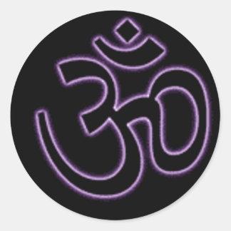 Purple Ohm Sticker
