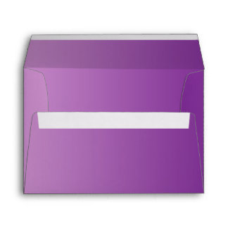 Purple Ombre A7 Envelope