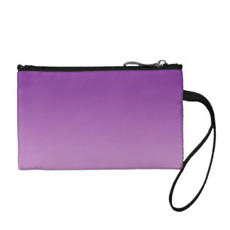 Purple Ombre Coin Wallets