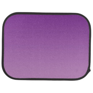 """""""Purple Ombre"""" Car Floor Mat"""