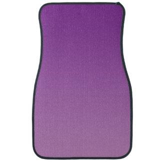 """Purple Ombre"" Car Mat"