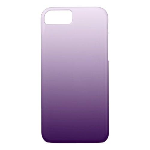 Purple Ombre iPhone 7 case Phone Case
