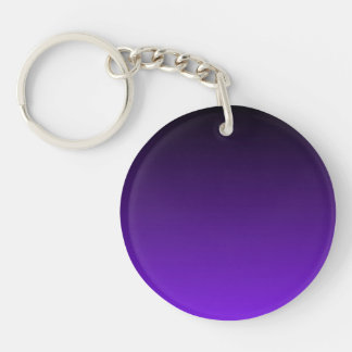 Purple Ombre Acrylic Key Chain