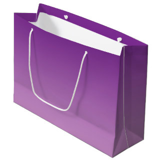 Purple Ombre Large Gift Bag