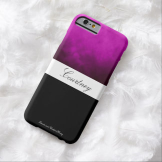 Purple Ombre Personalized Barely There iPhone 6 Case