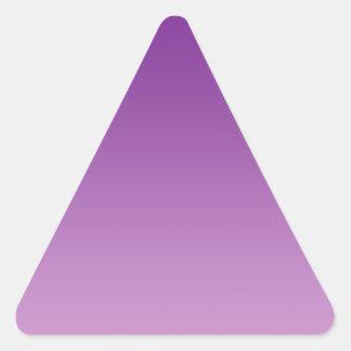 Purple Ombre Triangle Sticker