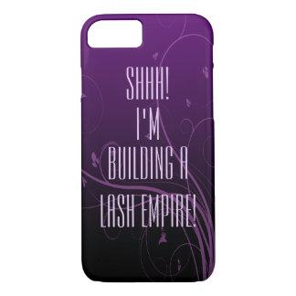 Purple On Purple Empire Builder Custom Phone Case