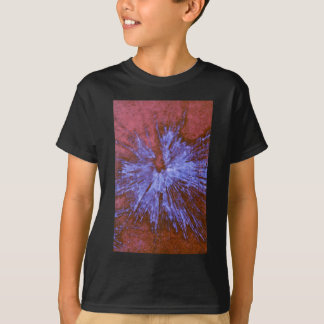 Purple on Red Paintball T-Shirt