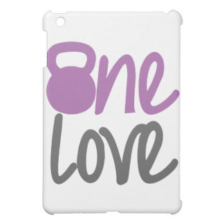 "Purple ""One Love"" Case For The iPad Mini"