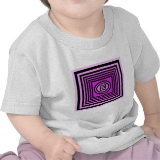 Purple Optical Illusion T-shirts