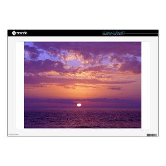 Purple Orange Florida Sunset Laptop Skin