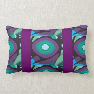 Purple Orange Pod Throw Pillows