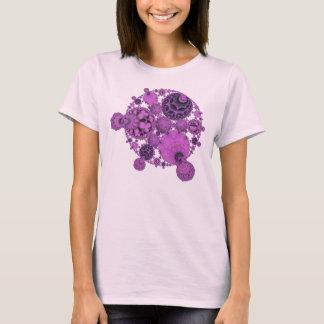 Purple Orbs Ladies Tshirt