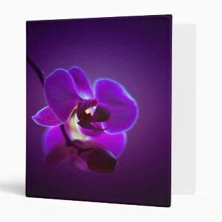 Purple Orchid 3 Ring Binder