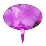 Purple Orchid Decoración Para Tarta