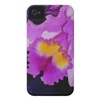 Purple Orchid flower Case-Mate iPhone 4 Case