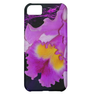 Purple Orchid flower iPhone 5C Covers