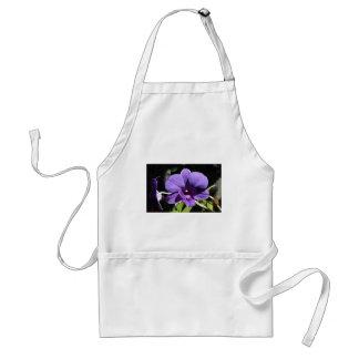 Purple Orchid Flower Faith Love Peace Destiny Adult Apron