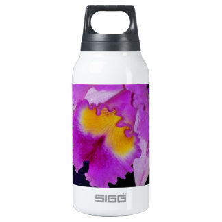 Purple Orchid flower Insulated Water Bottle
