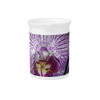 Purple Orchid Flower Drink Pitchers