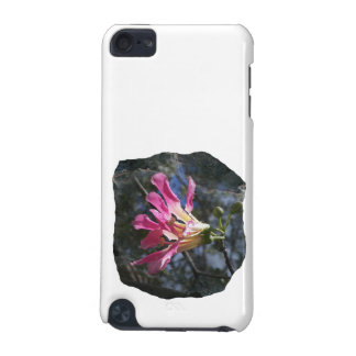 Purple orchid flower tree n sky rock background iPod touch (5th generation) cover
