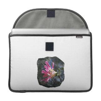 Purple orchid flower tree n sky rock background MacBook pro sleeves