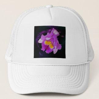 Purple Orchid flower Trucker Hat